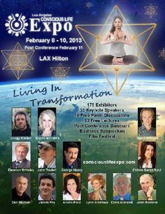 Join us February 8-10 (Post Conference February 11) for the Los Angeles Conscious Life Expo! #LosAngeles #Spirituality #Awakening #Transformation #ConsciousLifeExpo