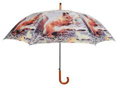 The Christmas Collection Squirrel Pattern Umbrella