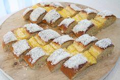 Hvetestang, krem.no Pastries, Feta, Rolls, Sweets, Bread, Dessert, Cheese, Baking, Decoration