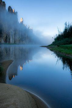 ponderation:  Misty Castles byAlexey Kharitonov