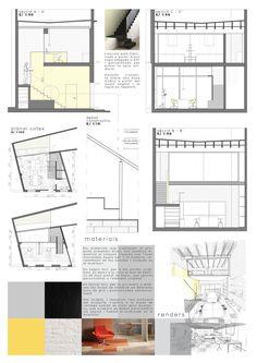 work space design 2, LauraMartí2015 Workspace Design, Floor Plans, Workplace Design, Floor Plan Drawing, House Floor Plans