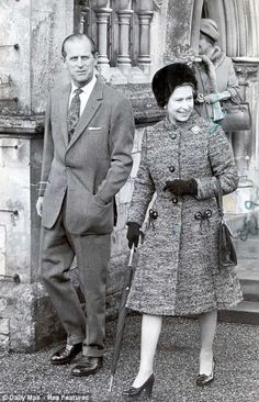 1977: It is the 25 years since the Queen took to the throne, and her Silver Jubilee is marked with a morning service at the chapel in the grounds of Windsor Castle