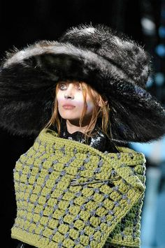Marc Jacobs Fall 2012 Crochet