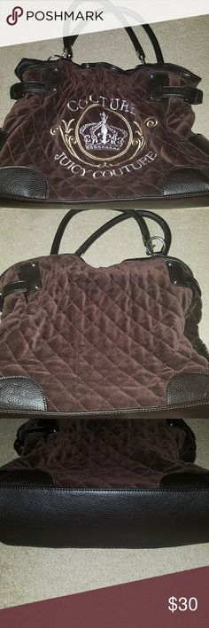 Juicy Couture purse Brown and black Juicy Couture purse Juicy Couture Bags Shoulder Bags
