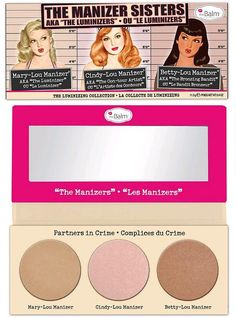 Now Available: NEW theBalm The Manizer Sisters Palette