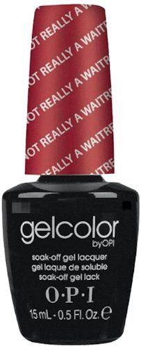 Opi Gelcolor Collection Nail Gel Lacquer, I'm Really Not A Waitress, 0.5 Fluid Ounce by OPI, http://www.amazon.com/dp/B006HJRAD8/ref=cm_sw_r_pi_dp_65whrb18BNZF9