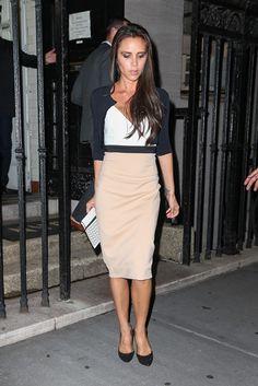 Η Victoria Beckham μετά το τέλος του show της | Jenny.gr