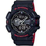 Amazon.com: G-Shock GA-110HR Black/Red Series Black - Black / One Size: Watches