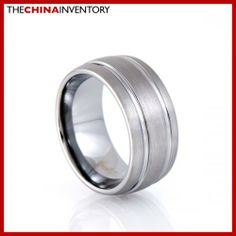 10MM SIZE 6.5 TUNGSTEN CARBIDE WEDDING BAND RING R1701 Tungsten Carbide Wedding Bands, Dreamland Jewelry, Wedding Ring Bands, Band Rings, Fashion Jewelry, Engagement Rings, Fashion Design, Enagement Rings, Wedding Rings