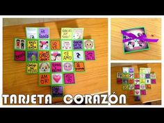 ALBUM EXPANDIBLE 3D - YouTube Cute Birthday Cards, Diy Birthday, Homemade Teacher Gifts, Diy Gifts, Diy Crafts For Girls, Diy And Crafts, Picture Gifts, Year Anniversary Gifts, My Scrapbook