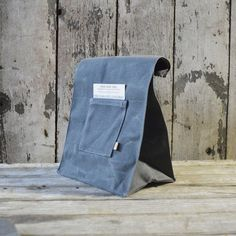 Marlowe Waxed Canvas Lunch Bag