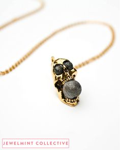 Screaming Skull Necklace - JewelMint