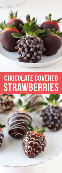 How to Make Chocolate Covered Strawberries with the best tips and tricks! #valentinesday #chocolate #chocolatecoveredstrawberries #chocolatecovered #valentinesdaygift #valentinesdaygiftideas #valentinesdaydesserts #easydesserts