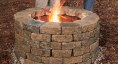 How to build your own fire pit.