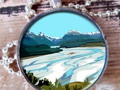 Dart River, Glenorchy pendant Craft Shop, Handmade Crafts, Shops, River, Group, Pendant, Board, Tents, Pendants