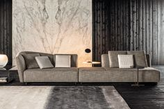 Introducing MINOTTI 2015 COLLECTION LOUNGE SEYMOUR SEATING SYSTEM