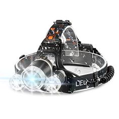 LED Headlamp Cap Light 90° Rotary Clip-on Fishing Hat Head Lamp Lantern Envy