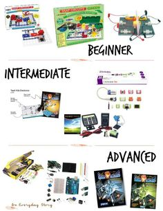10 Awesome Electronics Kits for Kids: In this post you'll find ten fabulous electronics kits for beginners right through to advanced tinkerers - from An Everyday Story