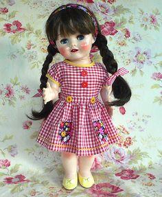 1959s walker dolls   MaryHogan › Portfolio › 1950s English hard plastic walker doll