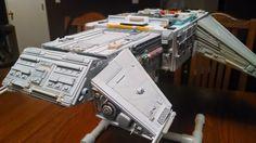 Warship model under construction. Under Construction, Blood, Desk, Model, Furniture, Home Decor, Writing Table, Desktop
