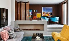 Decoração lúdica em residencia de 145 m²