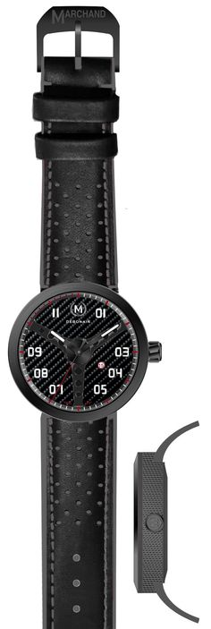 The latest edition, the carbon fibre dial with gun metal grey case ring. Pre-order now at marchandwatches.com
