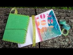 Easy DIY Beautiful Handmade Journal Tutorial - YouTube