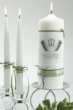 Irish unity candle