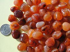 Carnelian- helps study, memory, inspiration, speech, laziness, apathy, self-esteem, compassion, courage and personal power. Great for live performers. Reduces thirst, helps digestion, gall bladder, liver, lungs, kidneys, spine, spleen, pancreas, thyroid, appetite, eating disorders, asthma, hay fever, common colds, bronchitis, infections, jaundice and minor cuts and scrapes.