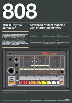Strictly not a synth I know. The Roland Rhythm Composer. Home Music, Dj Music, Music Stuff, Music Is Life, Techno Music, Music Machine, Drum Machine, Roland Tr 808, Vintage Drums