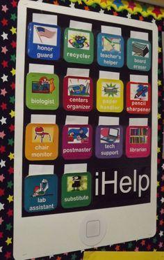 classroom jobs bulletin board ideas - Google Search