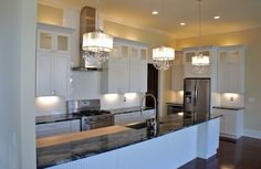 This Is My Kitchen Dark Floors White Cabinets And Black