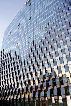 Bürogebäude Jing Mian Xin Cheng in Peking - Fassade - Gewerbe / Industrie - baunetzwissen.de