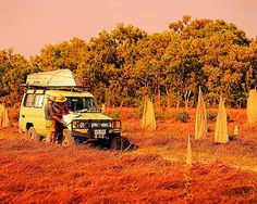 Then it's time to hit the outback and go on safari!!