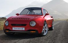 A czech designer imagined how it could look like a modern version of one of the successes of Skoda: Coupe. One of the best sports ever created Skoda m Automobile, Customize Your Car, Car Headlights, Mini Trucks, Latest Cars, Car Brands, New And Used Cars, Old Cars, Concept Cars