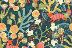 Absztrakt,állatok,gyerek,rajzolt,természeti mintás,virágmintás,barna,kék,narancs-terrakotta,piros-bordó,sárga,türkiz,zöld,vlies panel, fotótapéta