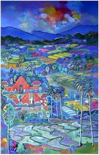 Painting for sale in Bali of Famous Balinese Artist |BALI PROPERTY FOR SALE