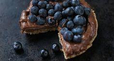 Dessert Recipe: The Ultimate Raw Vegan Chocolate Cake #glutenfree #vegan #recipes #healthy #plantbased #whatveganseat #rawfood #dessert