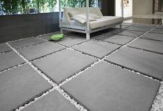 Ceramic wall tiles made in Italy Terrace Tiles, Paving Design, Porch Flooring, Diy Garden Projects, Garden Ideas, Outdoor Living, Outdoor Decor, Backyard Landscaping, House Design