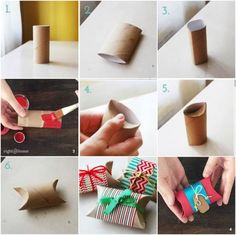Tinker advent calendar yourself - craft ideas and instructions for surprise every day - Hair Beauty - Food and Drink - Christmas - DIY and Crafts - Home Decor Dozen Roses, Yellow Roses, Label Design, Advent Calendar, Calendar Ideas, Presents, Gift Wrapping, Wrapping Ideas, Holiday Decor