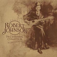 """ROBERT JOHNSON """"The Complete Recordings: The Centennial Collection"""" – 3LP. In den Jahren 1936 und 1937 sorgte Robert Johnson mit nur zwei Aufnahmesessions dafür, dass sein Delta Blues den Lauf der Rockgeschichte des 20. Jahrhunderts entscheidend beeinflusste. THE COMPLETE RECORDINGS: THE CENTENNIAL COLLECTION dokumentiert diese wegweisenden Sessions und präsentiert erstmals Robert Johnsons Gesamtwerk in einem Vinyl Package auf drei LPs."""