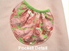 pocket pattern and instructions