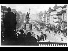 Předválečná Praha v roce 1935 - © copyright 2009 Jan J. Times Square, Mario, Film, Youtube, Painting, Travel, Prague, Movie, Viajes