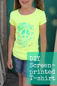 9adf461f64098 diy screenprint a t-shirt with zip screens product--i must try this!