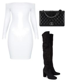 """""""Smart winter dinner"""" by mandyrobbie on Polyvore featuring moda, Yves Saint Laurent e Chanel"""