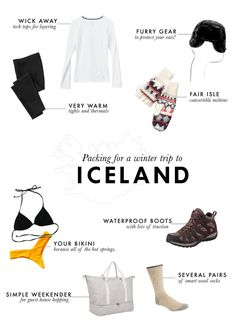 Packing for a winter trip to Iceland! Iceland In December, Travelling Wilburys, Iceland Adventures, Travel Planner, Trip Planner, Software Online, Iceland Travel, What To Pack, Travel Light