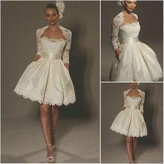 Ws014 Elegant Long Sleeve Short Wedding Dresses With Jacket Photo, Detailed about Ws014 Elegant Long Sleeve Short Wedding Dresses With Jacket Picture on Alibaba.com.