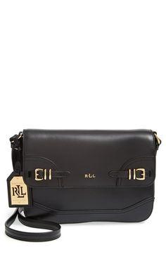Lauren Ralph Lauren  Medium Lauren  Leather Crossbody Bag  9196f84d7af83