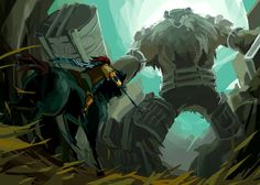 Shadow of the Colossus by nargyle on DeviantArt