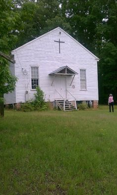 Mount Zion Methodist Church in rural Perry County, Alabama.  My husband's great grandfather was the pastor here in days gone by.  They no longer have services here but it has been placed on the historical register.
